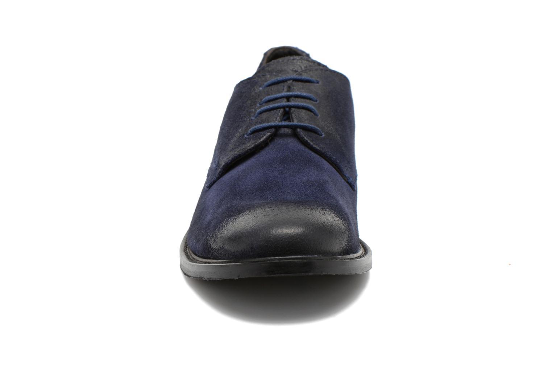 Chaussures à lacets Base London Max Benno Bleu vue portées chaussures