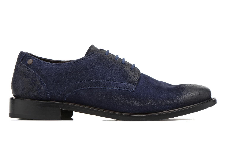 Chaussures à lacets Base London Max Benno Bleu vue derrière