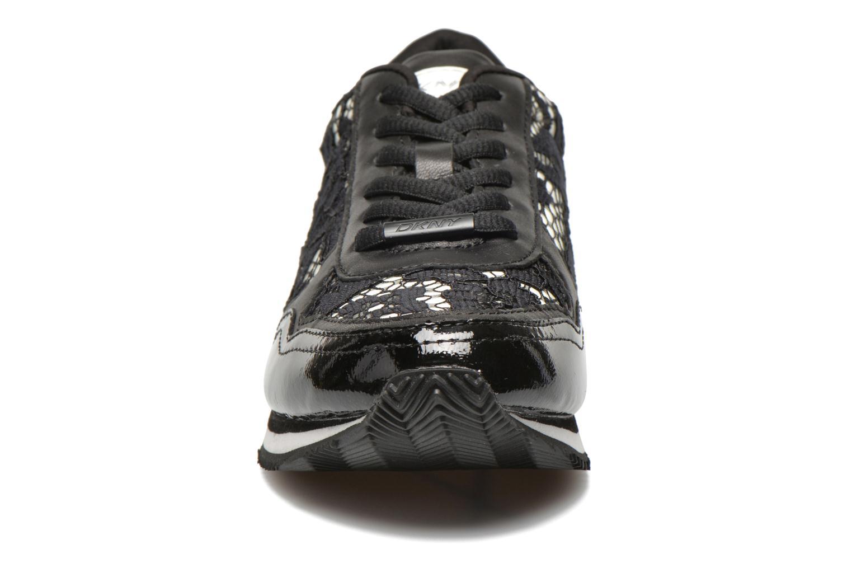 Baskets DKNY Jamie Noir vue portées chaussures