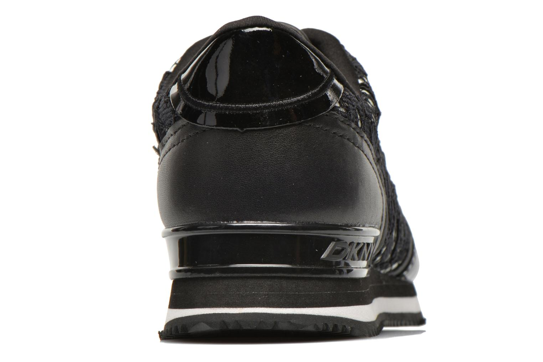 Baskets DKNY Jamie Noir vue droite