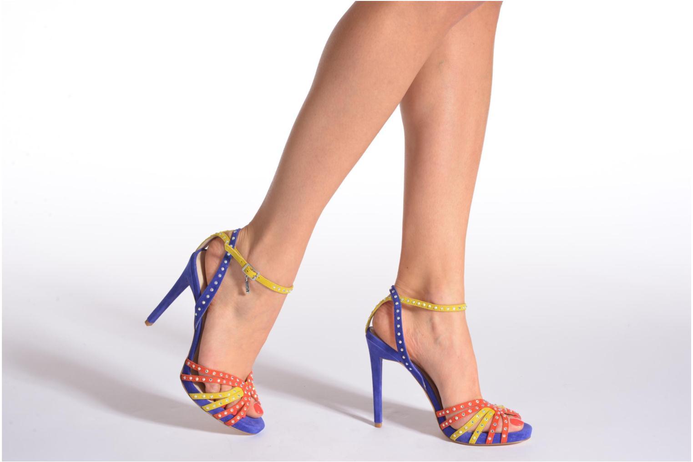 Sandales et nu-pieds Liu Jo Sandale Clio haute Multicolore vue bas / vue portée sac