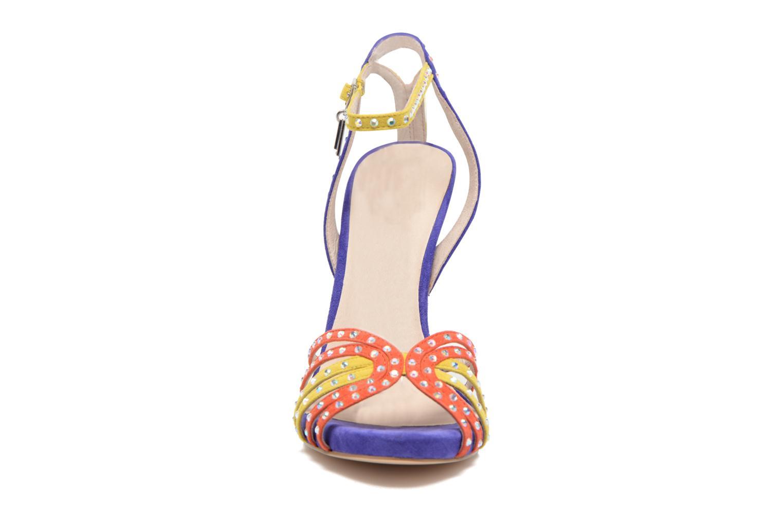 Sandale Clio haute multicolor bleu