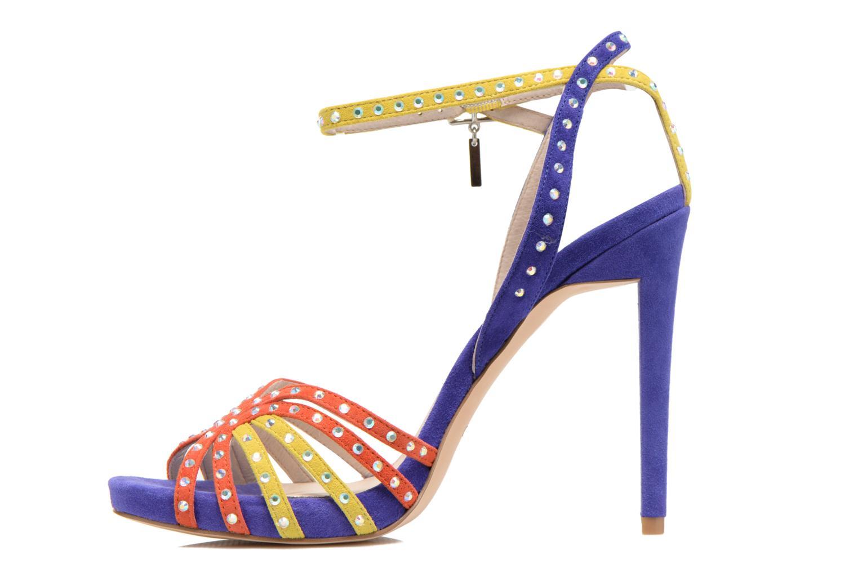 Sandales et nu-pieds Liu Jo Sandale Clio haute Multicolore vue face