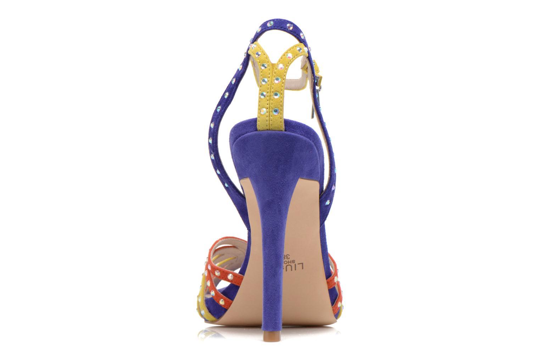 Sandales et nu-pieds Liu Jo Sandale Clio haute Multicolore vue droite