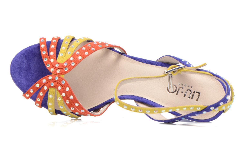 Sandales et nu-pieds Liu Jo Sandale Clio haute Multicolore vue gauche