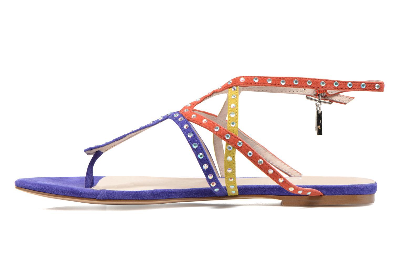 Sandales et nu-pieds Liu Jo Sandale Clio plate Multicolore vue face