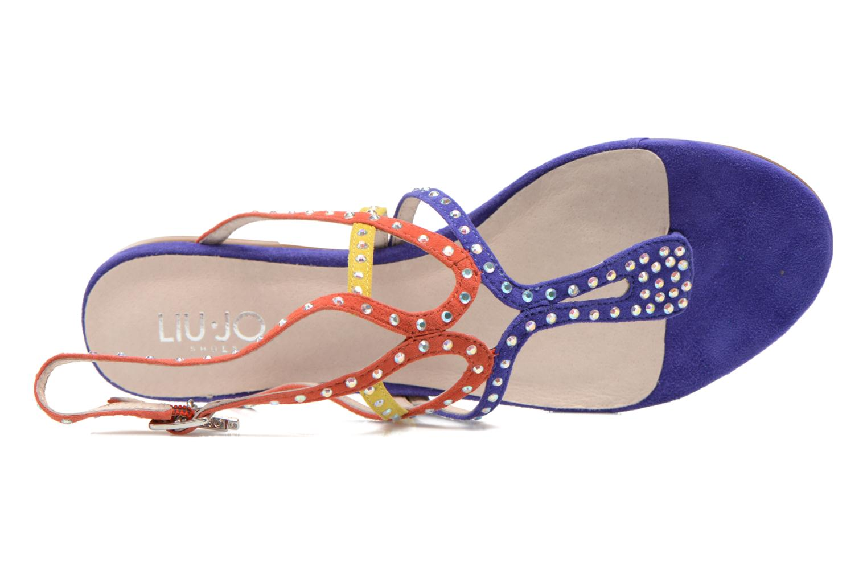 Sandales et nu-pieds Liu Jo Sandale Clio plate Multicolore vue gauche