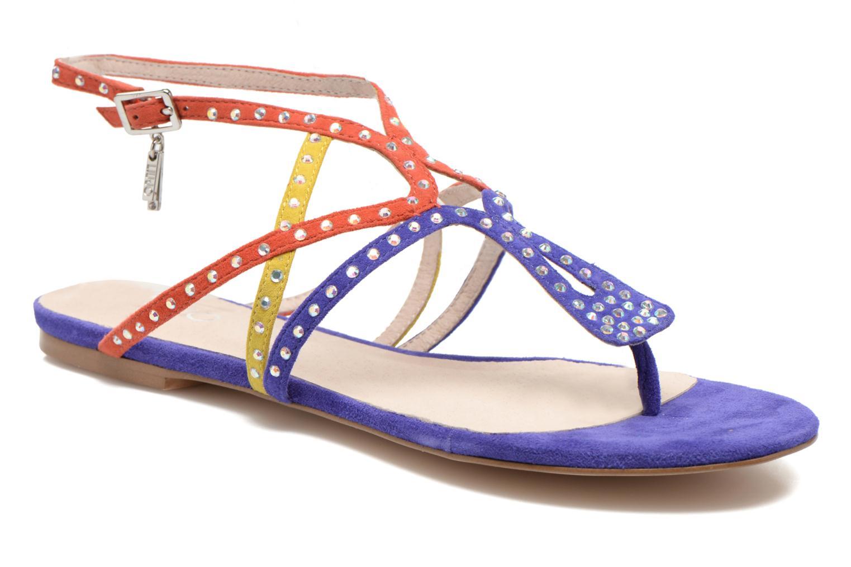 Sandales et nu-pieds Liu Jo Sandale Clio plate Multicolore vue détail/paire
