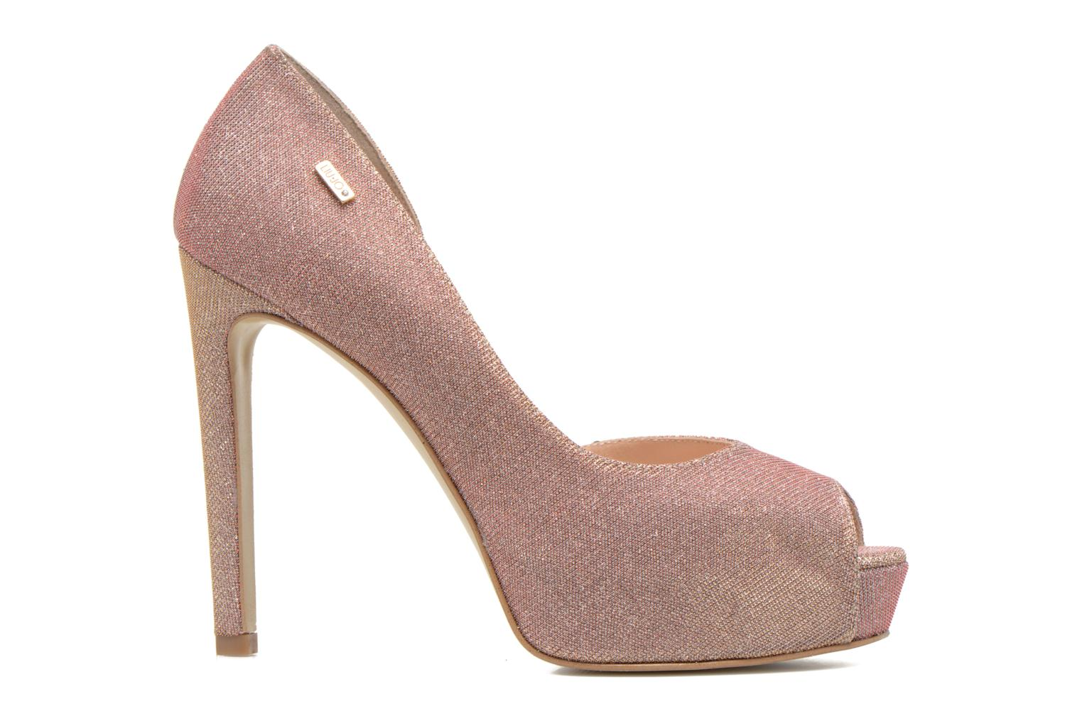 Marise Open toe Rose metallisé