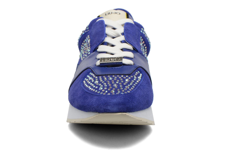 Baskets Liu Jo Clio basket Bleu vue portées chaussures