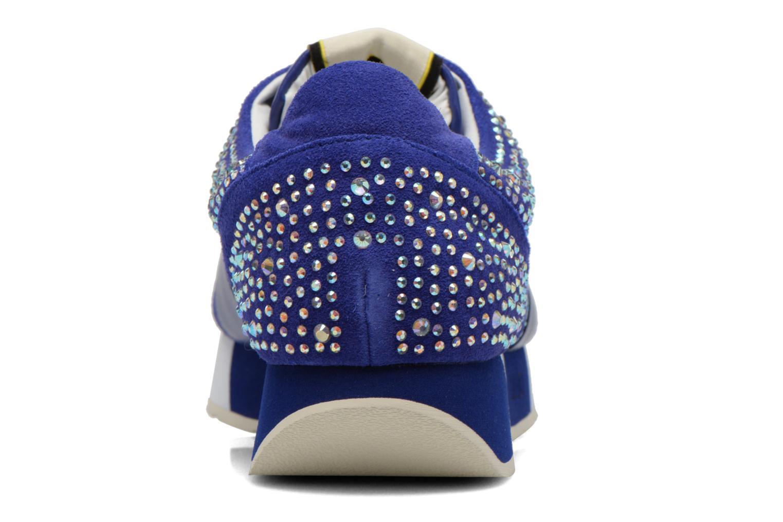 Baskets Liu Jo Clio basket Bleu vue droite