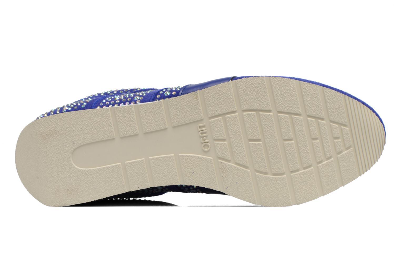 Baskets Liu Jo Clio basket Bleu vue haut