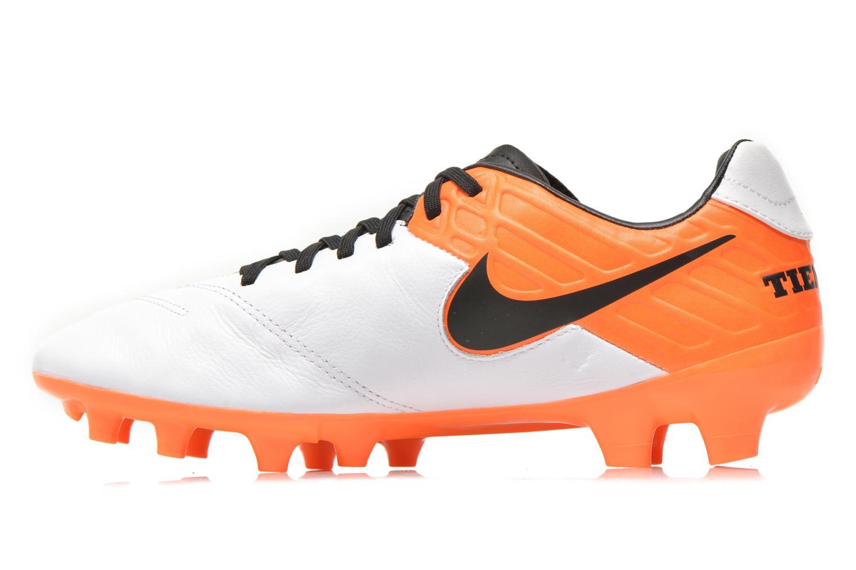 Chaussures de sport Nike Tiempo Mystic V Fg Blanc vue face