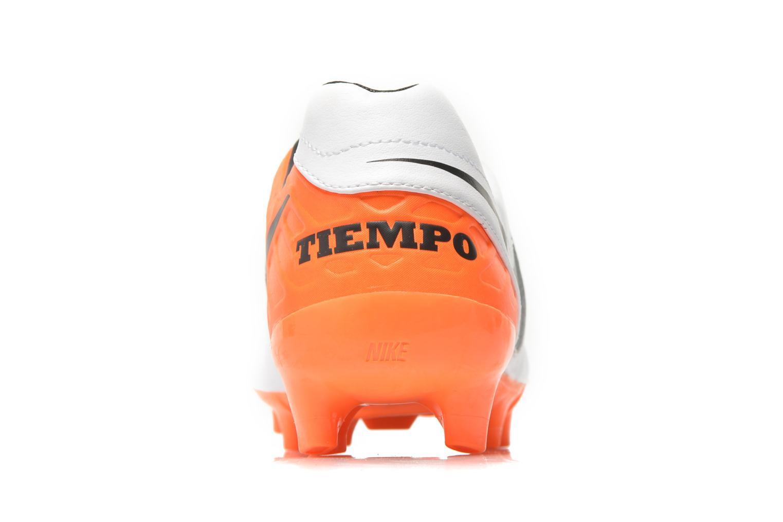 Chaussures de sport Nike Tiempo Mystic V Fg Blanc vue droite
