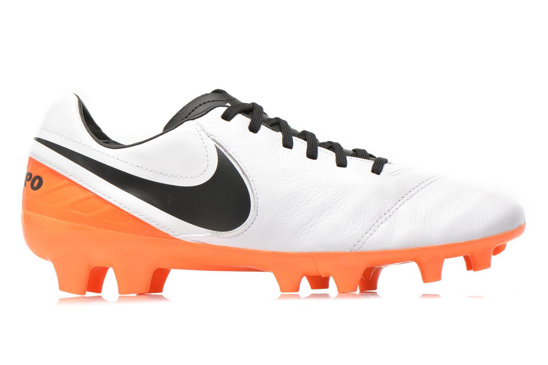 Chaussures de sport Nike Tiempo Mystic V Fg Blanc vue derrière