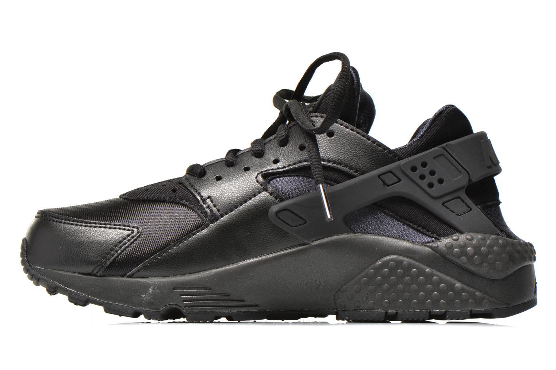 Sneaker Nike Wmns Air Huarache Run schwarz ansicht von vorne