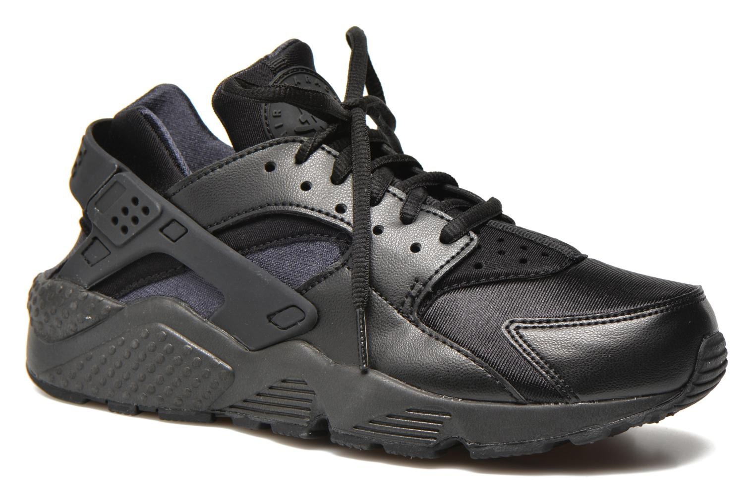 Baskets Nike Wmns Air Huarache Run Noir vue détail/paire