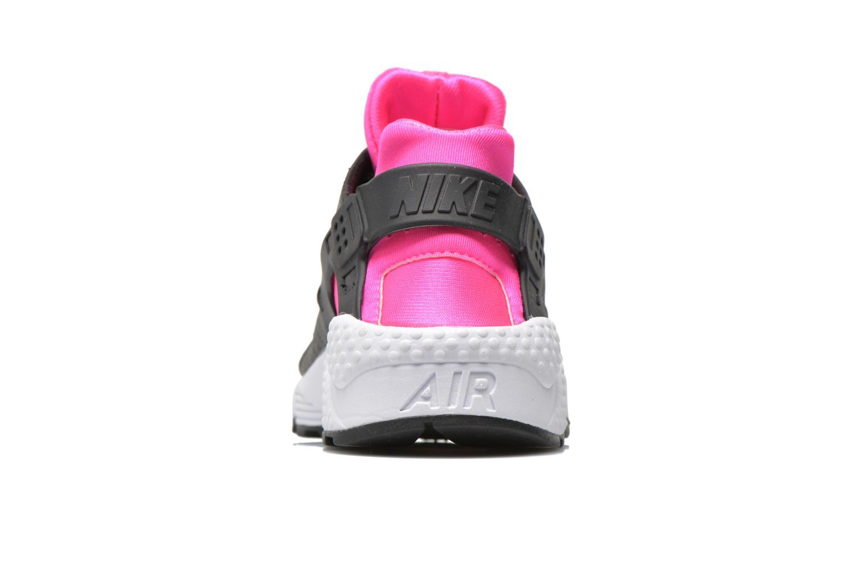 Wmns Air Huarache Run Black/Pink Blast-White