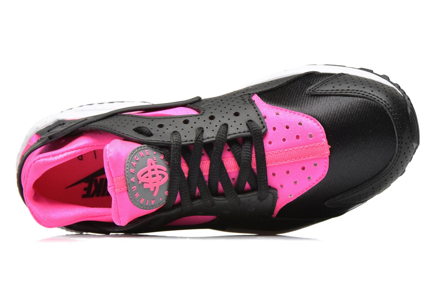 Wmns Air Huarache Run Black/Pink Blast-White