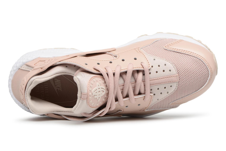 Baskets Nike Wmns Air Huarache Run Rose vue gauche