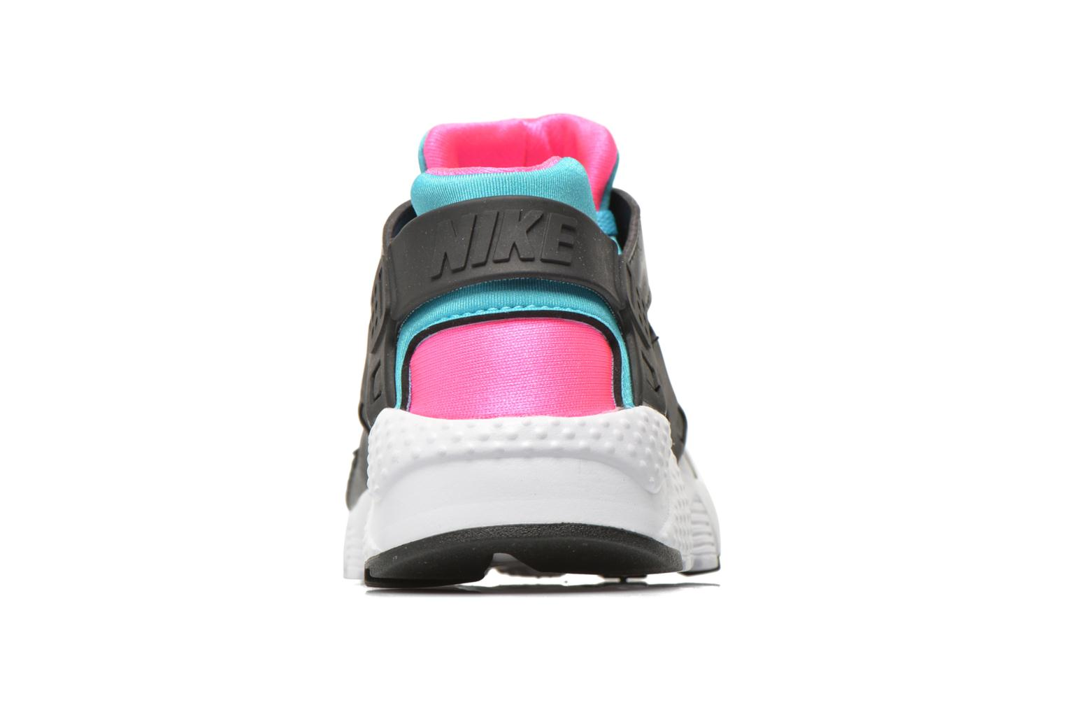 Trainers Nike Nike Huarache Run (Gs) Black view from the right