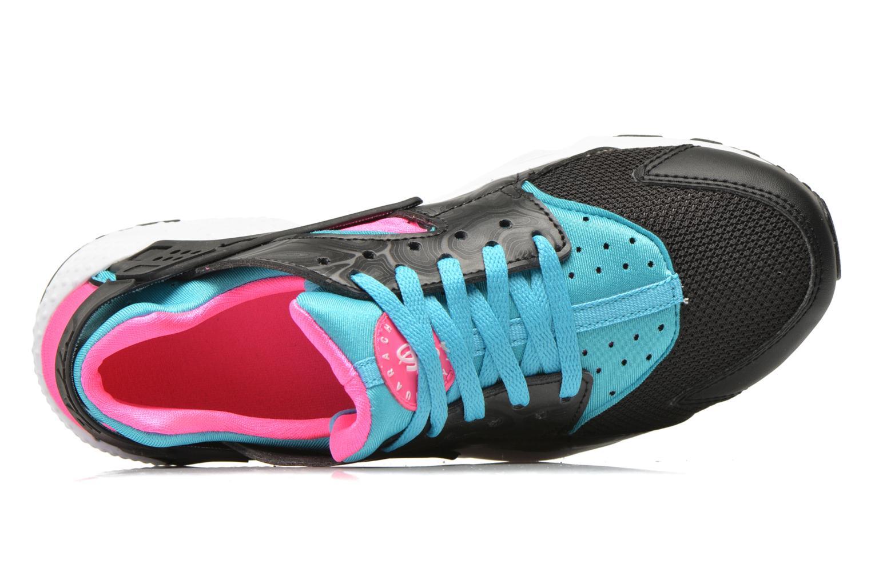 Deportivas Nike Nike Huarache Run (Gs) Negro vista lateral izquierda
