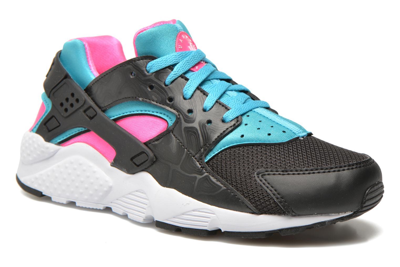 Sneaker Nike Nike Huarache Run (Gs) schwarz detaillierte ansicht/modell