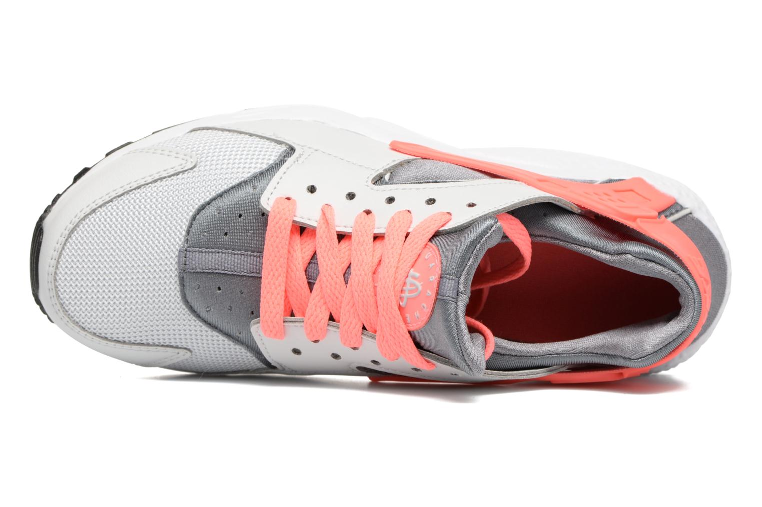 Nike Huarache Run (Gs) Pure Platinum/Lava Glow-Cool Grey-White