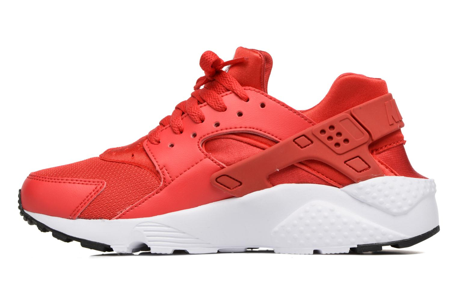 Baskets Nike Nike Huarache Run (Gs) Rouge vue face