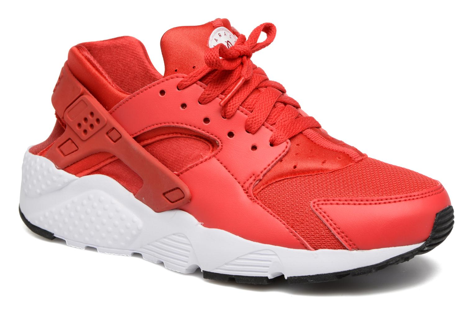 Baskets Nike Nike Huarache Run (Gs) Rouge vue détail/paire