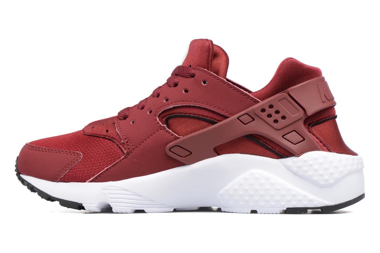 Baskets Nike Nike Huarache Run (Gs) Rouge vue face