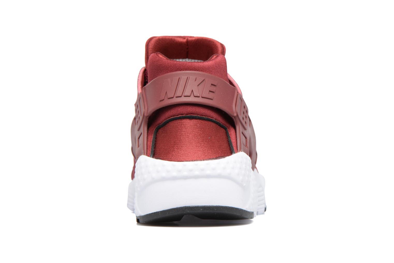 Baskets Nike Nike Huarache Run (Gs) Rouge vue droite