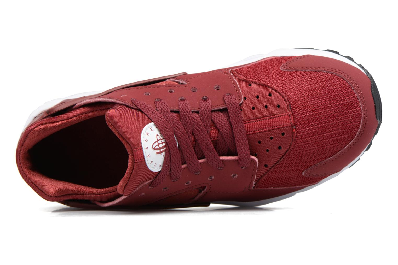 Baskets Nike Nike Huarache Run (Gs) Rouge vue gauche