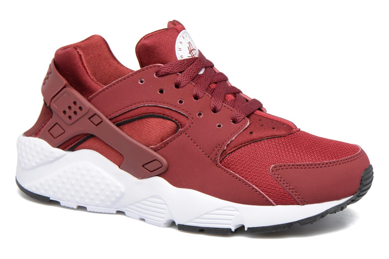 Baskets Nike Nike Huarache Run (Gs) Rouge vue détail/paire