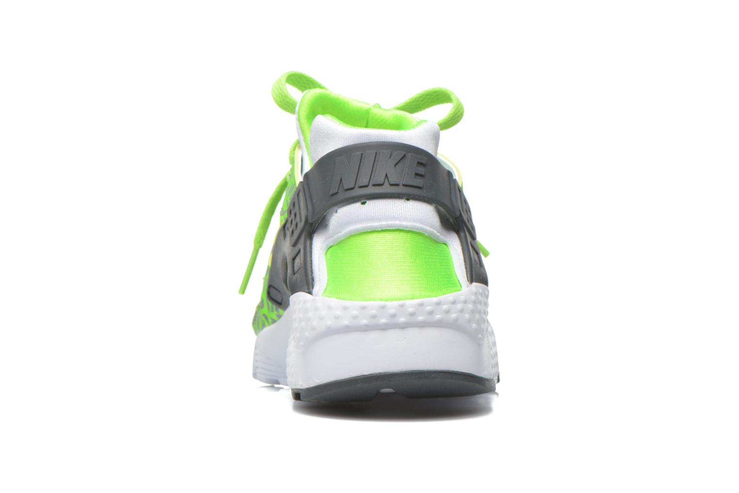 Trainers Nike Nike Huarache Run Print (Gs) Green view from the right