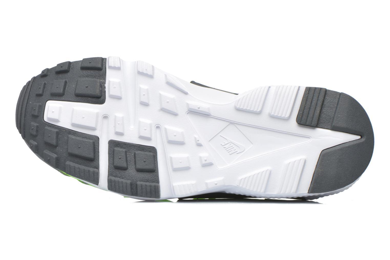 Trainers Nike Nike Huarache Run Print (Gs) Green view from above