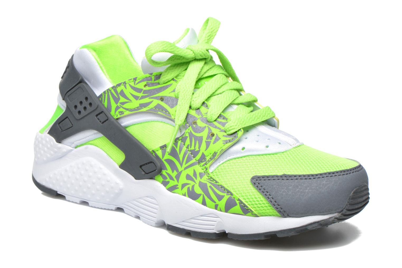 Deportivas Nike Nike Huarache Run Print (Gs) Verde vista de detalle / par