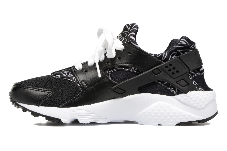 Trainers Nike Nike Huarache Run Print (Gs) Black front view