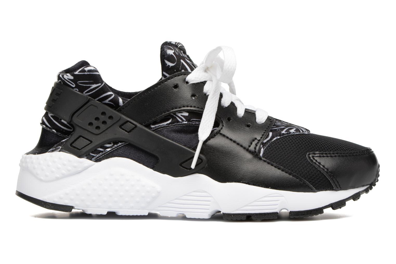 Trainers Nike Nike Huarache Run Print (Gs) Black back view