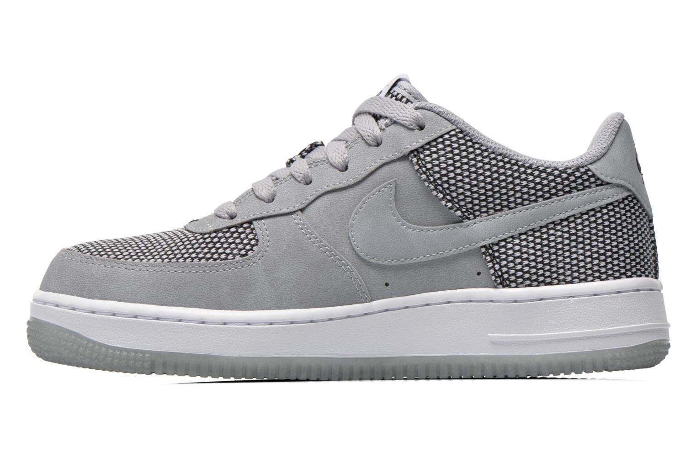 Baskets Nike Air Force 1 Premium (Gs) Gris vue face