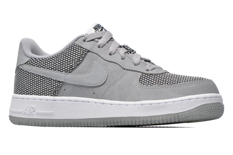Baskets Nike Air Force 1 Premium (Gs) Gris vue derrière