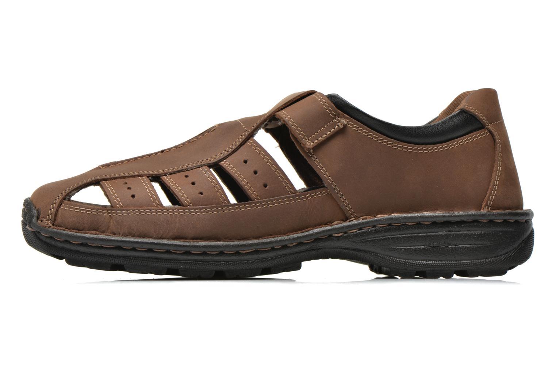 Sandali e scarpe aperte Roadsign Garry Marrone immagine frontale