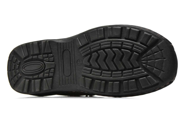 Sandales et nu-pieds Roadsign Garry Marron vue haut