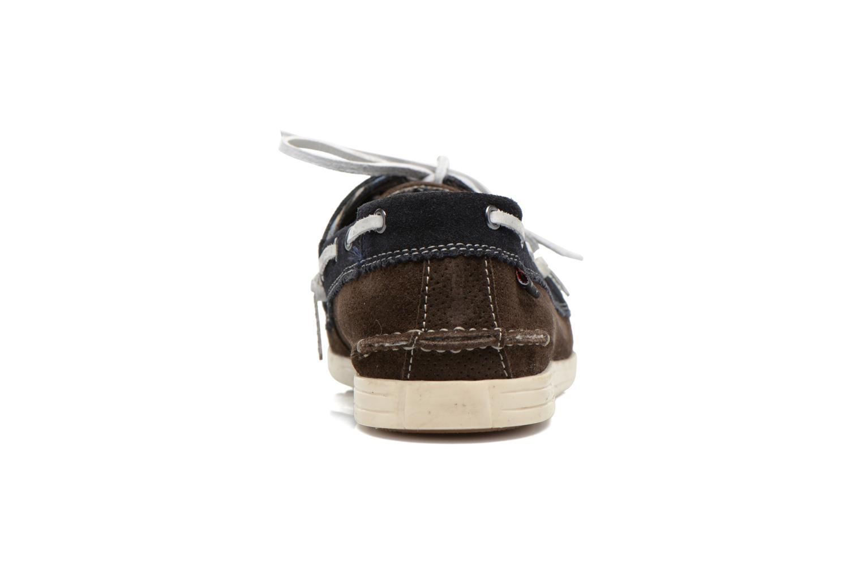 Chaussures à lacets Roadsign Genie Marron vue droite