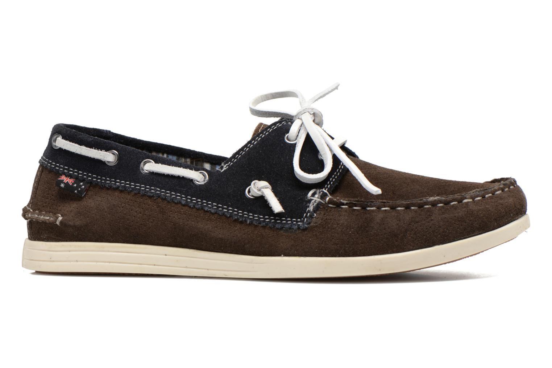 Chaussures à lacets Roadsign Genie Marron vue derrière