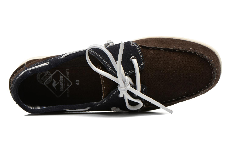 Chaussures à lacets Roadsign Genie Marron vue gauche