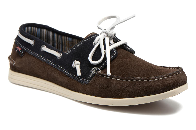 Chaussures à lacets Roadsign Genie Marron vue détail/paire