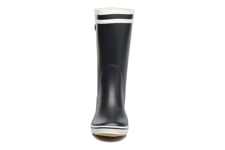 Ankle boots Aigle Malouine BT Blue model view