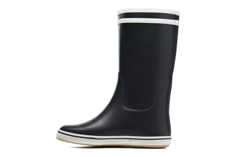 Bottines et boots Aigle Malouine BT Bleu vue face