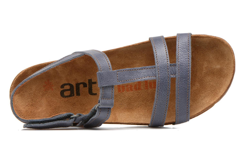 Sandales et nu-pieds Art I Breathe 946 Bleu vue gauche